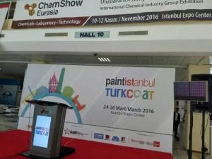 潘高化工参加土耳其油漆涂料展现场播报