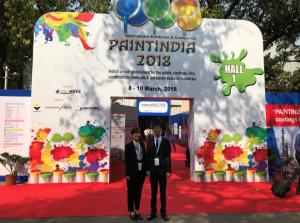 潘高化工参展2018印度涂料展