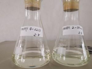 包覆胶水冷胶转印胶氯醋树脂溶解对比图